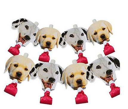 Party Pups Blow Outs, 8ct