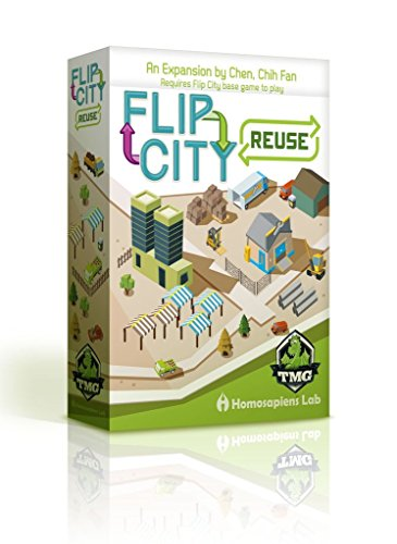 Flip City Reuse Board Game