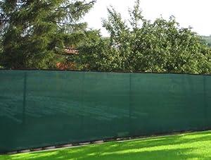 Privacy fence windscreen mesh fabric screen 6x50 backyard for Garden screening fabric