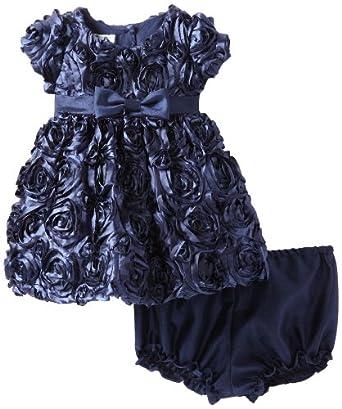 Pippa & Julie Baby-Girls Infant Cupcake Dress, Blue, 12 Months
