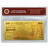 純金箔の一万円 カラーバージョン ケースあり