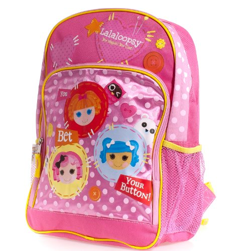 Lalaloopsy 16 inch Backpack Your Button