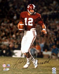 Joe Willie Namath Autographed Hand Signed Alabama 16x20 Photo PSA DNA by Hall+of+Fame+Memorabilia