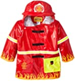 Kidorable Little Boys' Firefighter Raincoat