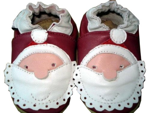 Genuine Leather Red Baby Shoes