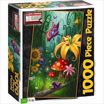 Picture of Endless Games Philip Straub A Secret Place 1000pc Jigsaw Puzzle (B002CNYIJM) (Jigsaw Puzzles)