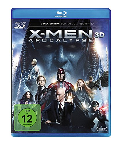 X-Men Apocalypse [3D Blu-ray]