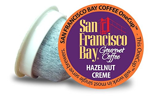 San Francisco Bay OneCup, Hazelnut Creme, 36 Single Serve Coffees (Hazelnut K Cups compare prices)