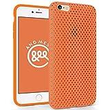 AndMesh iPhone 6s Plus ケース メッシュケース オレンジ AMMSC631-ORN