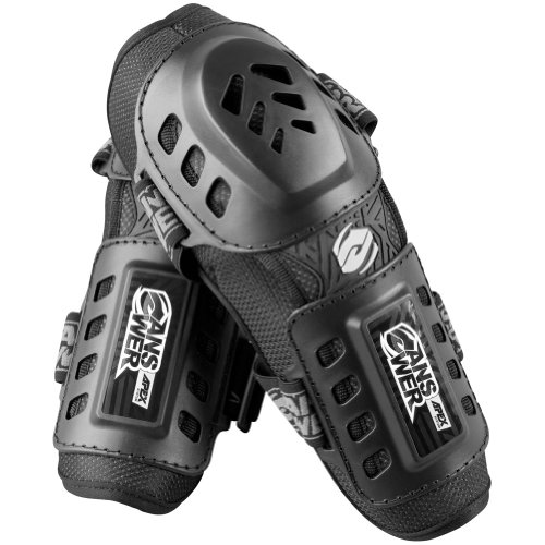 Answer  Racing Apex Youth Elbow Guard Dirt Bike Motorcycle Body Armor - Black / One Size