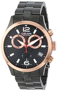 Golana Swiss Men'S Ae220-2 Aero Stainless Steel Chronograph Watch
