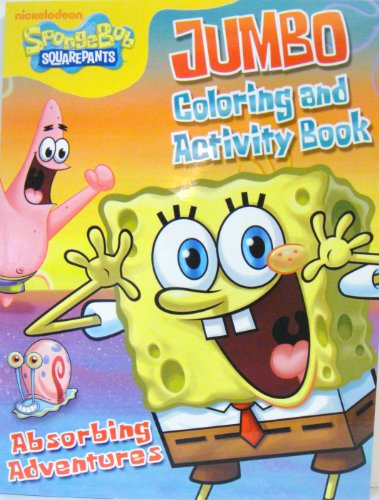 SPONGEBOB COLORING & ACTIVITY BOOK d - 1