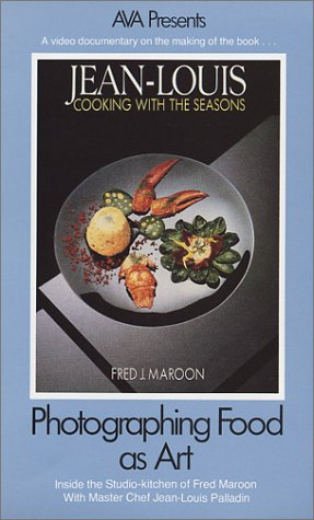 Photographing Food As Art: Inside the Studio-kitchen of Fred Maroon with Master Chef Jean-Louis Palladin [VHS]