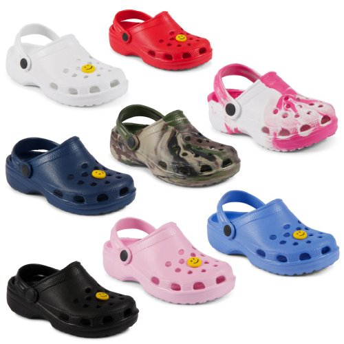 New Kids Girls Boys Summer Beach Clogs Sandals