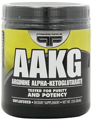 Primaforce Arginine Alpha-ketoglutarate, Unflavored, 250 Grams