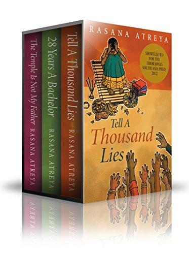 Rasana Atreya - Rasana Atreya's Boxed Set: Tell A Thousand Lies, The Temple Is Not My Father, 28 Years A Bachelor: Fiction from India