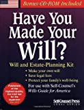 Have You Made Your Will?: Will and Estate-Planning Kit: With Forms (Self-Counsel Legal Series)