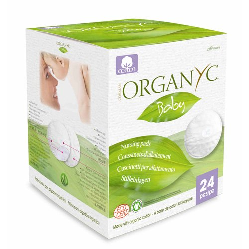 Organyc Nursing Pads Made With Organic Cotton - 24 Count - 1