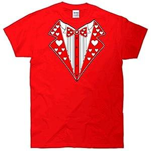 Valentine's Day Heart Tuxedo T-Shirt