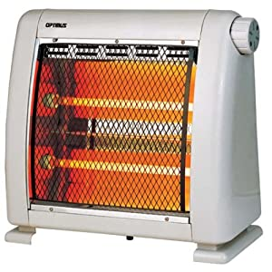Optimus H-5210 Infrared Quartz Radiant Heater