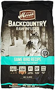 Merrick Backcountry Game Bird Recipe Pet Food, 22-Pound