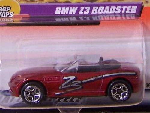 Matchbox BMW Z3 ROADSTER 1999 Series 10 Drop Tops #50 Red 1:64