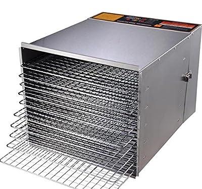 10 Tray 1200W Fruit Vegetable Sausage Jerky Food Dehydrator Dryer by KOVAL INC.