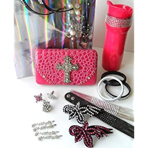 Rhinestone Bling Bling Gift Set with 22 Pieces