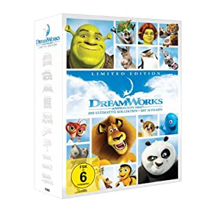 Dreamworks 10 Movies Collection für nur 49,97€ inkl. Versand