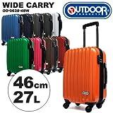 (アウトドアプロダクツ)OUTDOOR PRODUCTS アウトドアプロダクツスーツケース OD-0628-48W 46cm 【CARBON-BLACK】