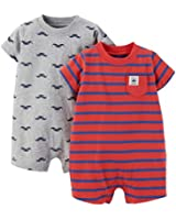 Carter's Baby Boys' 2 Pack Rompers (Baby)
