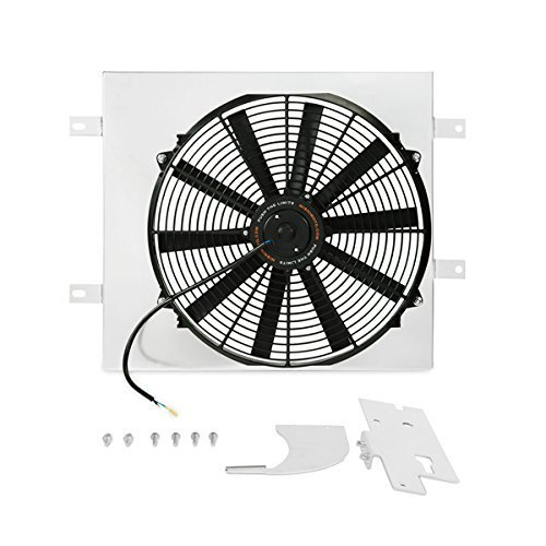 Mishimoto MMFS-WRA-87 Fan Shroud Kit (Jeep Wrangler YJ and TJ Performance) (Yj Electric Fan compare prices)
