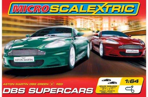 Micro Scalextric Aston Martin DBS Supercars