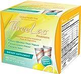 Threelac Original Natural Probiotic Candida Relief Formula 3Lac 60 servings