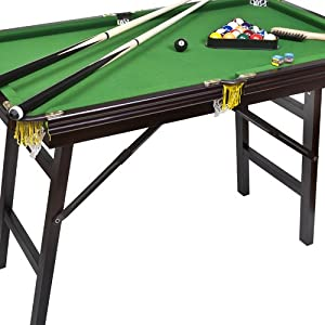 Bello Games New York, Deluxe Folding Pool Table EXTRA LARGE 44 by Bello Games New York, Inc.