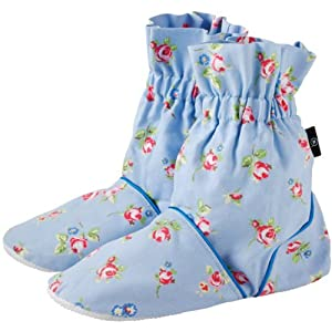 Aroma Home Blue Rose Bud Pattern  Microwavable Feet Warmers