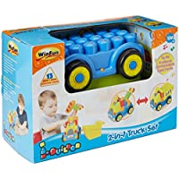 Winfun Two In One Truck Block Set, Multi Color
