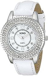 XOXO Women's XO3364 Analog Display Analog Quartz White Watch