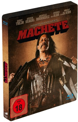 Machete (Limited Steelbook Edition) [Blu-ray]