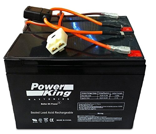 Cheapest Prices! Razor 12 Volt Electric Scooter Batteries High Performance Beiter DC Power®- Set of...