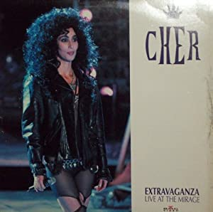 Cher Extravaganza Live At The Mirage (Laser Disc)