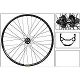 WTB FX28 29er Disc Rear Wheel, Shimano M525 9-Speed Hub, QR, Black