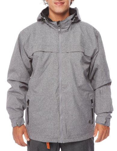 LIGHT Erwachsene Jacke Polar, Grey Heather, L, FA866-13