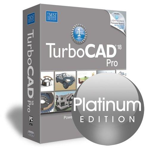 TurboCAD Pro 18 Platinum 2D & 3D CAD Design &
