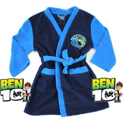 Official Ben 10 Dressing Gown Blue