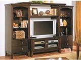 Espresso finish wood TV / Plasma / LCD / Big screen entertainment center