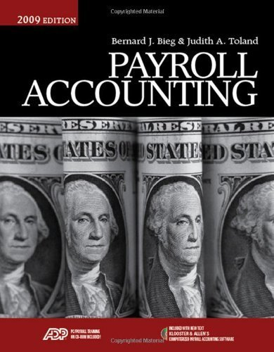 Payroll Accounting 2009 (with Klooster/Allen's Computerized Payroll Accounting Software) [Paperback]