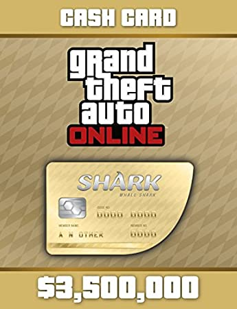 Grand Theft Auto Online: Whale Shark Cash Card [Online Game Code]