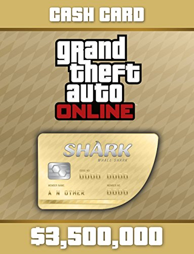Grand Theft Auto V:  Whale Shark Cash Card - PS4 [Digital Code] (Gta V Shark Card Ps4 compare prices)