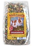 Classic Friends Zwergkaninchenfutter Eimer, 1er Pack (1 x 3 kg)